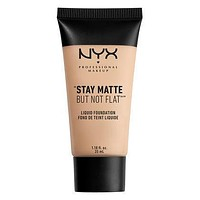 NYX Stay Matte But Not Flat Liquid Foundation - Porcelain - #SMF16