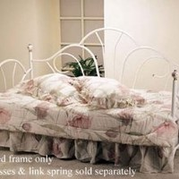 Peacock Style Day Bed W/porcelain Knobs *frame Only* By Acme Furniture