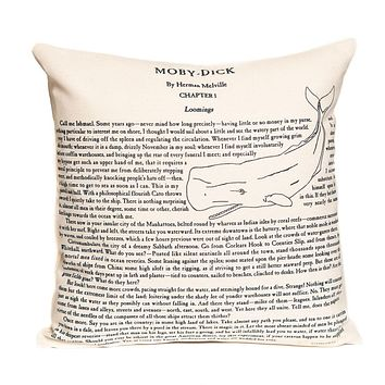 Moby Dick Pillow