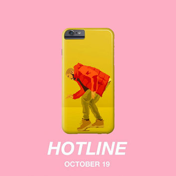 Hotline bling Drake OVO Apple IPhone 4 5 5c 6 6s Plus Galaxy Note Case 6 God XO Weeknd Views jumpman