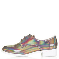 FLASH Holographic Lace Up Shoes - New In This Week - New In