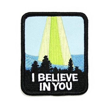 I Believe In You UFO Patch