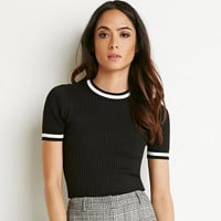 Knitted Short Sleeves Stretch Jersey Shirt