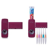 Bathroom Accessories Automatic Toothpaste Dispenser Toothbrush