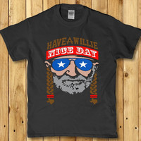 Have a Willie nice day adult men's shirt