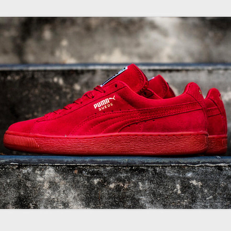 Image of PUMA Trending Fashion Casual Sports Shoes Red