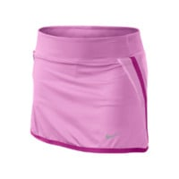 Nike New Boarder Girls' Tennis Skirt - Red Violet