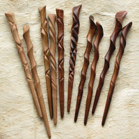 Hawaiian Hardwood Hairstick