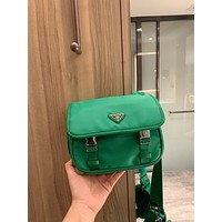 prada women leather shoulder bag satchel tote bag handbag shopping leather tote crossbody satchel shouder bag 54