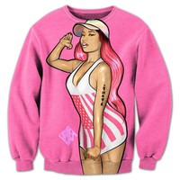 Nicki Minaj Graphic Print 3D Sweatshirts