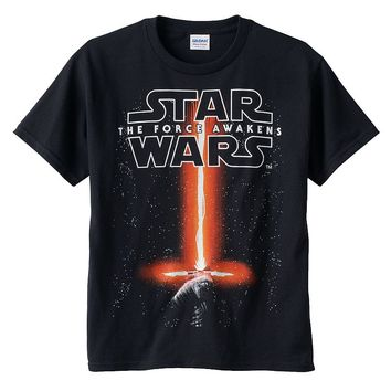 Star Wars: Episode VII The Force Awakens Glow-In-The-Dark Saber Tee - Boys 8-20, Size: