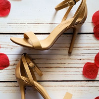 Date Night Heels-Nude