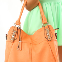 Carrying Your Love Purse: Orange Sherbet