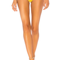 Lovers + Friends Zippy Bottom in Yellow & Pink