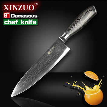 "8"" Inches Chef Knife Japanese Steel"