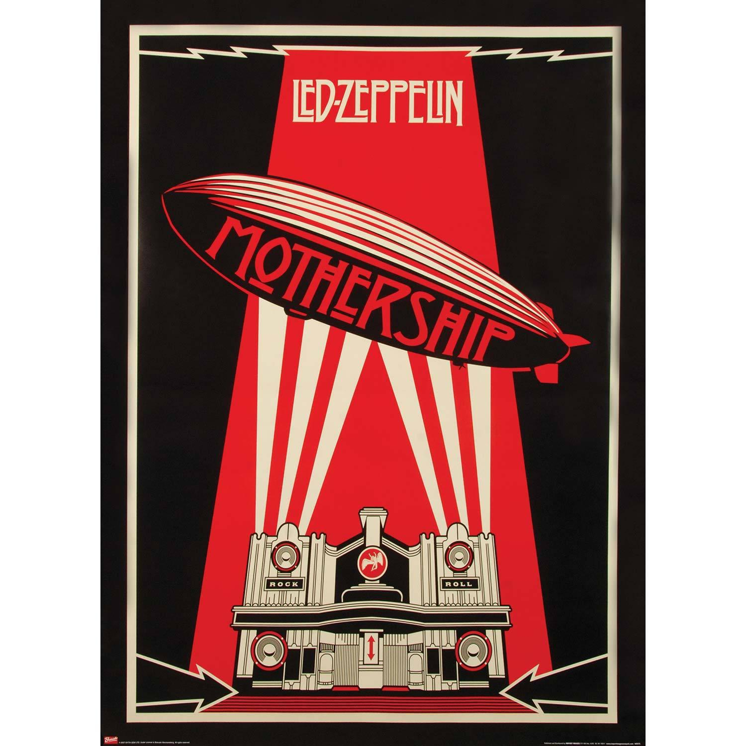Image of Led Zeppelin Subway Poster