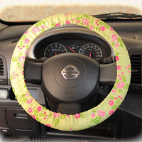 Steering wheel cover for wheel car accessories Non by CoverWheel
