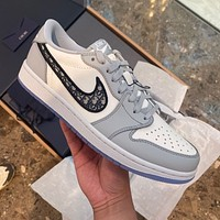 Air Jordan 1 high top men's shoes women's shoes student breathable basketball shoes