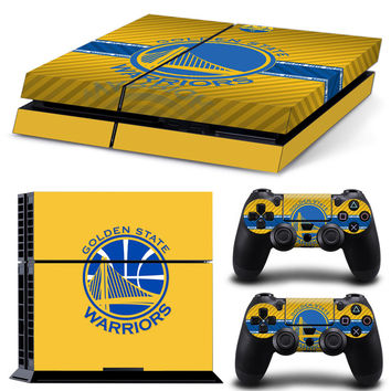 2178/2167 Golden State &Orlando Basketball Vinyl Skin Decal &2 Controller Stickers For Playstation 4 Console