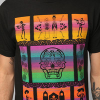 Pendleton Day Of The Dead Blanket Tee