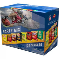 Frito-Lay Party Mix Variety Pack, 32 count, 31 oz - Walmart.com