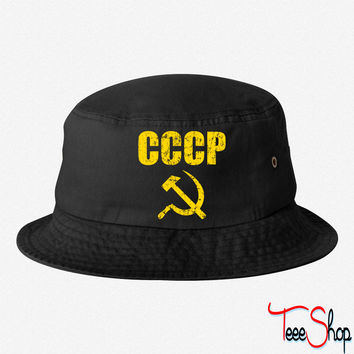 CCCP Hammer and Sickle bucket hat