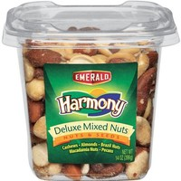 Emerald Harmony Deluxe Mixed Nuts, 14-Ounce Tubs (Pack of 3)