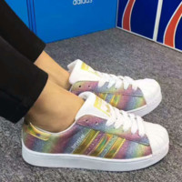 ADIDAS Shells colorful Sport Casual Shoes Sneakers