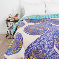 Urban Outfitters - Magical Thinking Paisley Harmony Reversible Duvet Cover