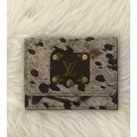 LV Snap Wallet Cowhide