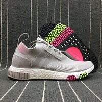 Newest Adidas NMD Racer Spring / Summer Boost 2018 Line UP Sport Shoes CQ2433