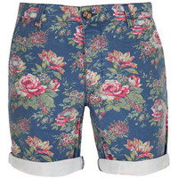Printed Floral Shorts - Mens Shorts  - Clothing