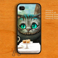 Alice In Wonderland Cheshire cat-IPhone 4/4S/5 Case-Samsung Galaxy S2/S3/S4 Case-AA22072013-2