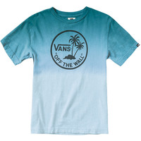 Vans Dipped Palm Island Youth T-Shirt - Lagoon