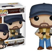 Funko Pop TV: Supernatural - Bobby Singer Vinyl Figure xyz