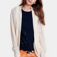 Miranda Open Knit Cardigan