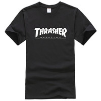 Thrasher Magazine Black & White T-Shirt