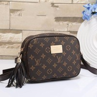 Louis Vuitton New Women Fashion Leather Satchel Shoulder Bag Crossbody