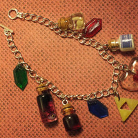 Legend of Zelda Themed Mini Charm Bracelet