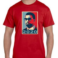 Yeezzy Kanye West For President  Poster Mens T Shirt