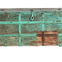 One Kings Lane - Russell Johnson - Rustic Green Trunk