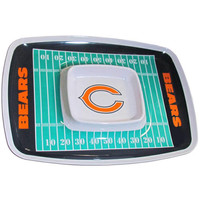 Chicago Bears NFL Chip & Dip Tray