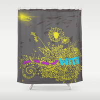 Love the One Your With Shower Curtain by Intrinsic Journeys