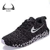 New Men Women Shoes Casual Mixed Color Breathable Mesh Canvas Flat Sport Walking Shoes Mens Trainers Basket Zapatillas