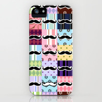 Moustaches by Adidit iPhone & iPod Case by Adidit
