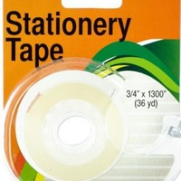 Clear Stationery Tape in Dispenser (Available in a pack of 12)