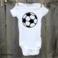 Soccer Onesuits®, Soccer Baby Shower, Sports Baby Shower