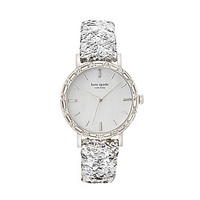 kate spade new york Boxed Pave Interchangeable Strap Metro Grand Watch