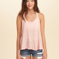 Girls Must-Have Peplum Cami | Girls Tops | HollisterCo.com