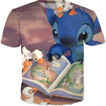 Stitch With Ducklings